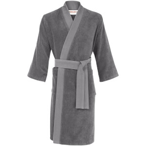 KENZO Iconic Bathrobe - Grey