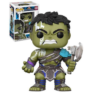 Thor Ragnarok Gladiator Hulk without Helmet EXC Pop! Vinyl Bobble Head Figure