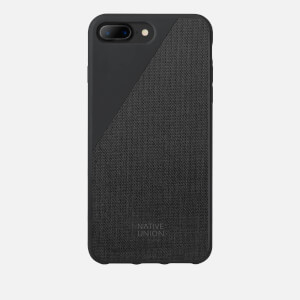 Native Union Clic Canvas - iPhone 7 Plus/8 Plus Case - Black