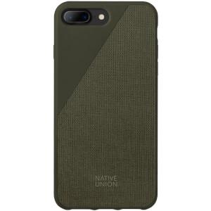 Native Union Clic Canvas - iPhone 7 Plus/8 Plus Case - Olive