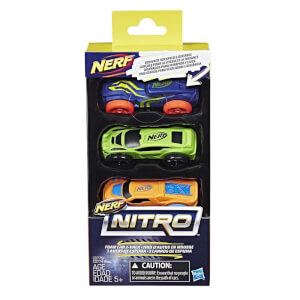 Nerf Nitro - Coffret de 3 recharges (Lot 1)