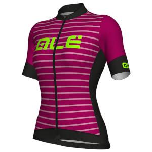 Alé Women's R-EV1 Marina Jersey - Black/Purple