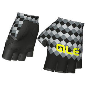 Alé Rumbles Gloves - Black/Grey