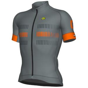 Alé Strada Jersey - Grey/Orange