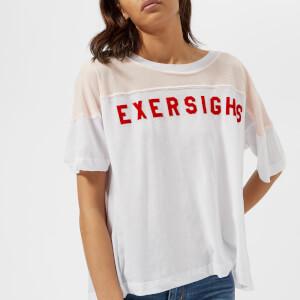Wildfox Women's Exersighs Short Sleeve T-Shirt - Clean White