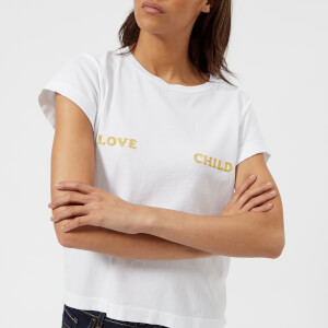 Wildfox Women's Love Child Short Sleeve T-Shirt - White