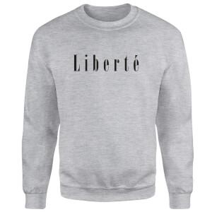 Sweat Homme Liberté - Gris