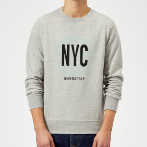 NYC Manhattan Sweatshirt - Grey