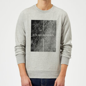 Sweat Homme Roman 1984 - Gris