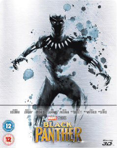 Black Panther 3D (Includes 2D Version) - Zavvi UK Exclusive Limited Edition Steelbook