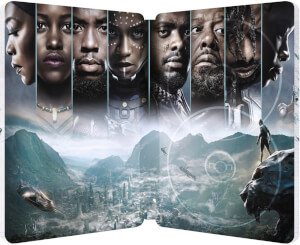 Black Panther 4K Ultra HD (+ 2D Version) - Zavvi UK Exclusive Limited Edition Steelbook: Image 6
