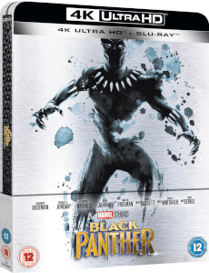 Black Panther 4K Ultra HD (+ 2D Version) - Zavvi UK Exclusive Limited Edition Steelbook: Image 2