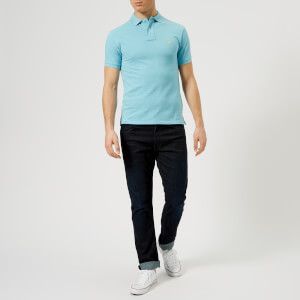 Polo Ralph Lauren Men's Slim Fit Basic Mesh Polo Shirt - Watch Hill Blue Heather: Image 3