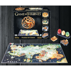 Puzzle 3D Game of Thrones Essos - (1350 Pièces)