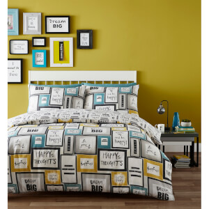 Catherine Lansfield Dream Big Duvet Set - Multi