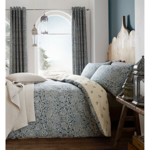 Catherine Lansfield Moroccan Paisley Duvet Set - Petrol