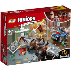 LEGO Juniors Disney Incredibles 2: Underminer's bankoverval (10760)