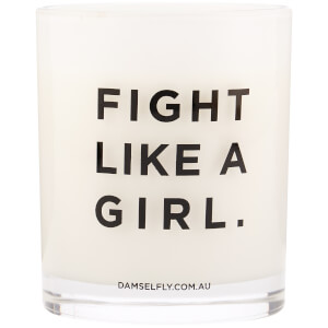 Damselfly Fight Like a Girl Candle 300g