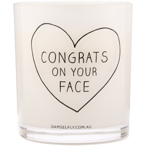 Damselfly Congrats Candle 450g