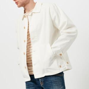Armor Lux Men's Veste Pecheur Héritage Shirt Jacket - Milk