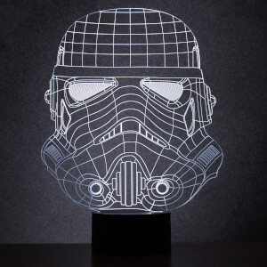 Star Wars Original Stormtrooper Wireframe Light