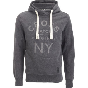 Crosshatch Men's Laramie Hoody - Charcoal Marl