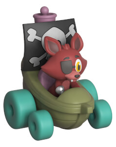 Figurine Funko Super Racers : Five Nights At Freddy's - Foxy the Pirate