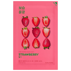 Holika Holika Pure Essence Mask Sheet -kasvonaamio, Strawberry