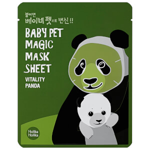 Máscara em Folha Baby Pet Magic Mask da Holika Holika (Panda)