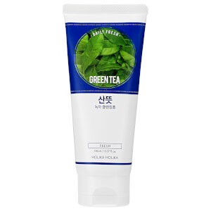 Espuma de Limpeza Chá Verde Daily Fresh Green Tea da Holika Holika 150 ml