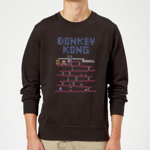 Sweat Homme Donkey Kong Rétro - Nintendo - Noir