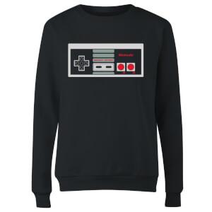 NES Controller Chest Women's Sweatshirt - Black