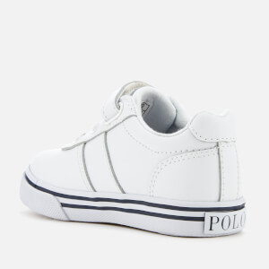 Polo Ralph Lauren Kids' Hanford EZ Low Top Trainers - White/Multi: Image 2