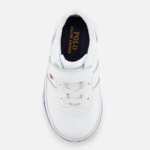 Polo Ralph Lauren Kids' Hanford EZ Low Top Trainers - White/Multi: Image 3