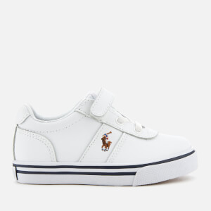 Polo Ralph Lauren Kids' Hanford EZ Low Top Trainers - White/Multi