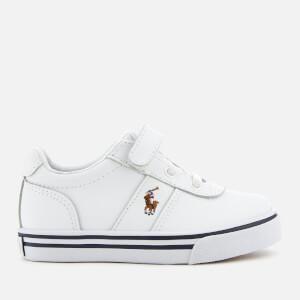Polo Ralph Lauren Kids' Hanford EZ Low Top Trainers - White/Multi: Image 1