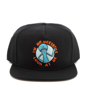Rick and Morty Men's Rick SB Patch Hat - Black