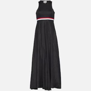 Tommy Hilfiger X GIGI Women's Silk Racer Back Maxi Dress - Black Beauty