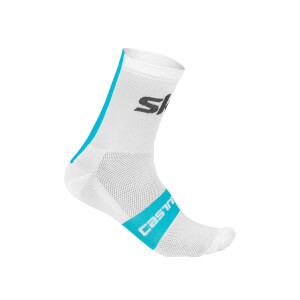 Team Sky Rosso Corsa 13 Socks - White