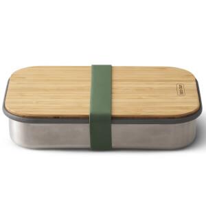 Black+Blum Stainless Steel Sandwich Box - Olive