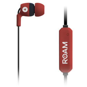 ROAM Journey In-Ear Bluetooth Earphones - Red