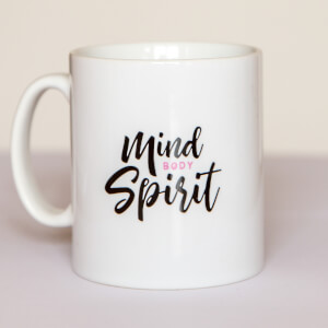 Healthy Madame Mind Body Spirit Tasse - Weiß