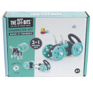 The Off Bits Robot Kit - Green Car