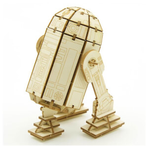 Incredibuilds Star Wars R2-D2 3D Wooden Model Kit