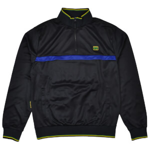 Reynolds 531 Quarter Zip Track Top - Black