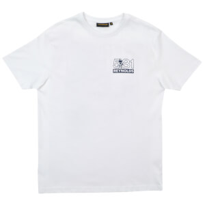 Reynolds Travel Light Printed T-Shirt - White