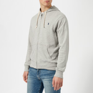 Polo Ralph Lauren Men's Terry Zipped Hoody - Spring Heather