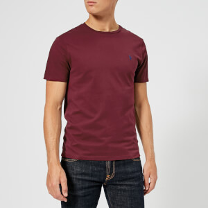 Polo Ralph Lauren Men's Crew Neck T-Shirt - Classic Wine