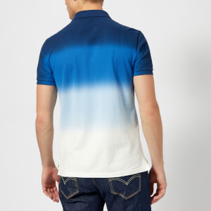 Polo Ralph Lauren Men's Dip Dye Polo Shirt - Navy White: Image 2