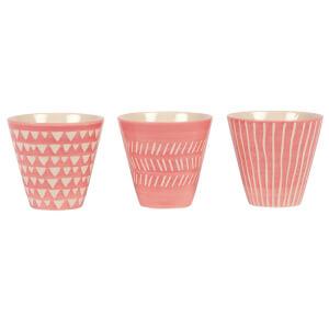 Sass & Belle Pink Mini Planters (Set of 3)